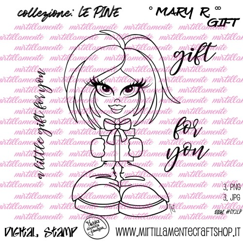 LE PINE: MARY R. GIFT