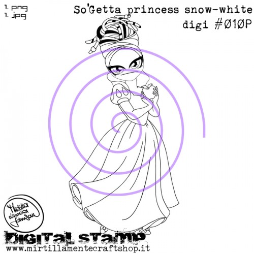 SO'GETTA PRINCESS SNOW-WHITE