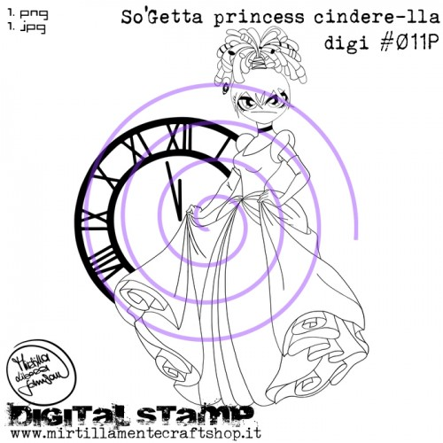 SO'GETTA PRINCESS CINDERE-LLA