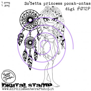 SO'GETTA PRINCESS POCAH-ONTAS