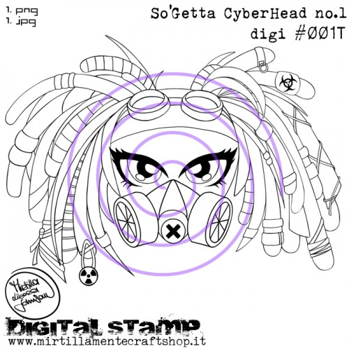 SO'GETTA CYBERHEAD NO.1