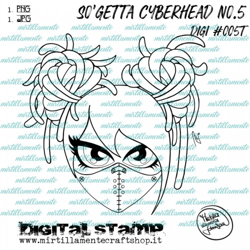 SO'GETTA CYBERHEAD NO.5