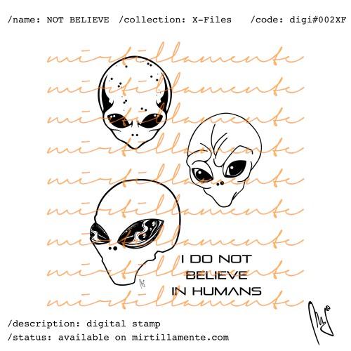 X-FILES: NOT BELIEVE