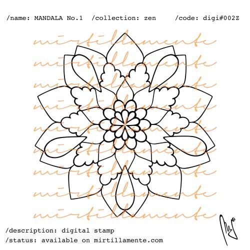 ZEN: MANDALA NO.1
