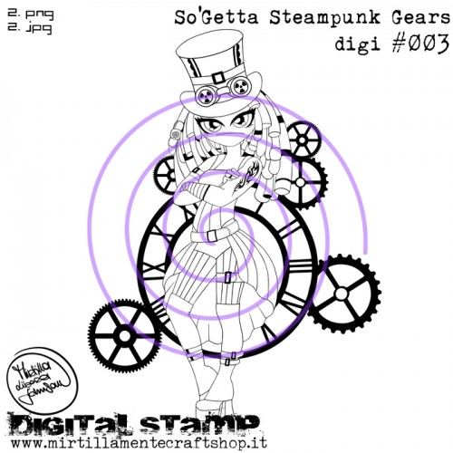 SO'GETTA STEAMPUNK GEARS