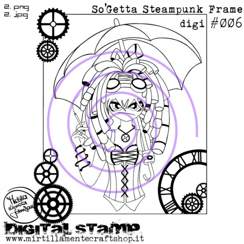 SO'GETTA STEAMPUNK FRAME