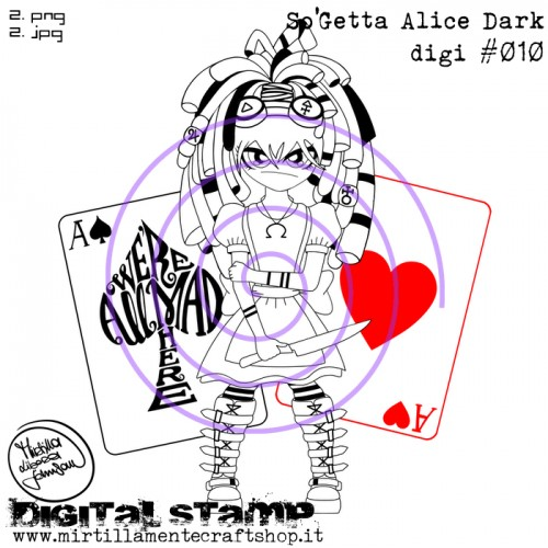 SO'GETTA ALICE DARK