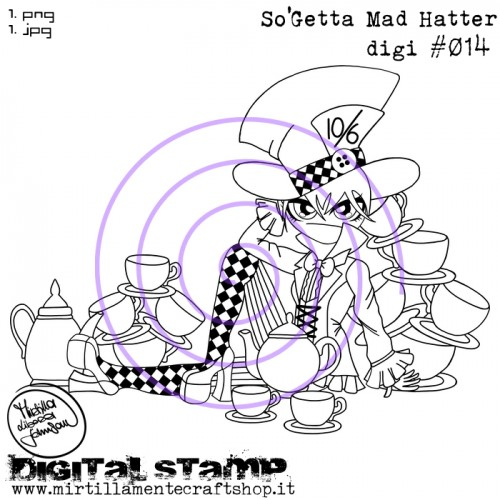 SO'GETTA MAD HATTER